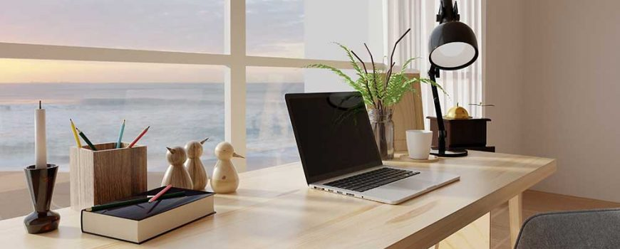 10 Clever Hacks to Keeping Your Home Office Clean
